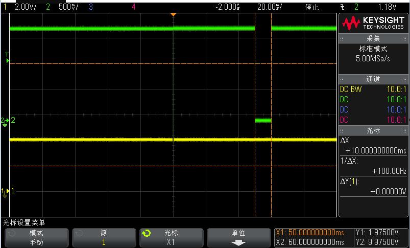 10ms的低脉冲